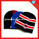 Jacquard Football Team Beanie Hat