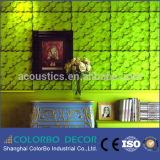 Polyester Fiber Acoustic Panel Boards Wallpaper 3D