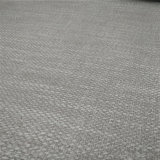 Linen Fabric Like Artifical Synthetic Faux Imitation PVC Leather for Upholstery Covers/Decoration /Pannel-Risk