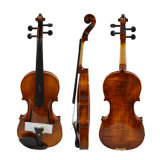 Professional Handmade Oil Paintings of Single Back Violins 4/4