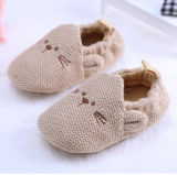 Hot Wholesale Indoor Newborn Cotton Cat Beautiful 0-1 Yearsold Baby Prewalker Shoes