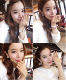 Hot Fashion Street Shoot Accessories Imitation Pearl Size Adjustable Ring