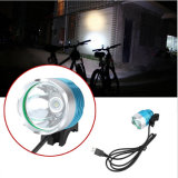USB 5V Rechargeable CREE Xm-L T6 Bike Light 1600lm Max LED Bike Light