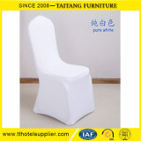 White Stretch Wedding Spandex Banquet Chair Cover