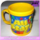 Wholesale Sublimation PVC Mugs Bulk Rubber Plastic Cup