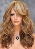 European Spot Black Fluffy Wig Repair Face Female Hair Mixed Sweet New Golden Pear Head