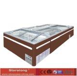 Auto Defrost Island Freezer for Supermarket Cqz18d