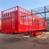2 Axle Fence Semi Trailer Cargo Fence Full Trailer with Wholesale Semi Truck Tires for Sale