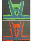 En471 Certificate Polyester Security Vest with 5cm