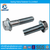 DIN6921 High Quality Blue Zinc Plated Hex Flange Bolt