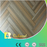 Household 8.3mm HDF Crystal Hickory Sound Absorbing Laminate Flooring