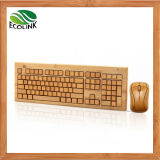 Bamboo Keyboard and Mouse Wireless Keyboard Bamboo
