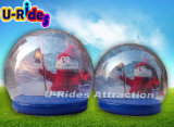 Advertising Inflatable Snow Globe Ball inflatable snow ball for Chritmas Decoration