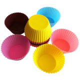 Non-Stick Food Grade Bakeware Tool Silicone Cake Mould DIY Cup Cake Mold