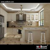 Welbom Glass Door Wood Kitchen Cabinets