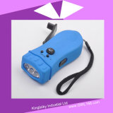 Customized Hand Crank Rechargeable Torch Light (HA-002)