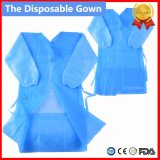 Non Woven/SMS/CPE Medical Gown/Hospital Gown/Surigcal Gown/Surgeon Gown/PP Sterile Reinforced Disposable Surgical Gown, Isolation Gown, Disposable Patient Gown