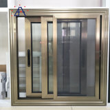 High Quality Cheap Aluminum Sliding Glass Window with Mosquito Netting