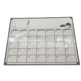 Hot Sale Reusable Magnetic Weekly Planner White Board for Kids, Office and School