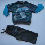 Boy's Fleece Pullover Jogging Suit Sweater and Pant