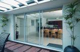 Aluminium/Aluminum Double Glazing Swing/ Sliding/ Hinged/Folding Glass Doors Price