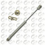 Furniture Air Cylinder White Spring with Brackets for Cabinet Door