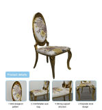 High Back Golden Stainless Steel Dining Chair / Wedding Chair / Banquet Chair for Wholesales