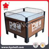 Supermarket Promotion Rack with Wire Fence