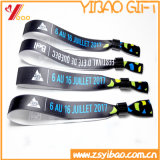 Promotional Woven Fabric Bracelet /Wristband for Party