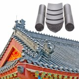 Cheap Temple Roofing Materials Ceramic Chinese Clay Roof Tiles