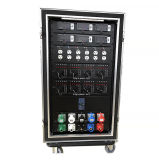 3 Phase 208V Input Power Distro with Socapex Outlets
