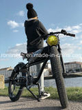 Scrambler Retro 250W Electric Bicycle/Classic 350W Electric Bike/E Bicycle/Old School Electric Longbike/Vintage 500W Pedelec/Velo Electrique 26X3 Tire Ce