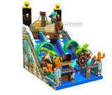 Inflatable Slide with Pirate Theme for Sale