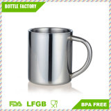 18-8 Stainless Steel Coffee Cups BPA Free Tea Mugs with Handle 350ml