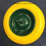 Colorful Solid Ruuber Wheel with PU Foam Material
