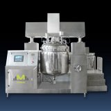 500L Double Hydraulic Lotion Vacuum Emulsifying Mixer Machine