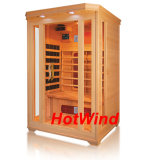 Senior Quality Infrared Sauna Room Family Sauna Canadian Hemlock