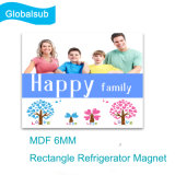 Sublimation Blanks MDF 6mm Rectangle Refrigerator Magnet