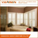 2018 Factory Direct Basswood Wood Plantation Shutter for Bathroom
