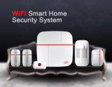 Security Alarm System with Low Battery Alert