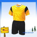 2013 Newest Blank Top Style European Latest Own Design of Football Soccer Jersey Uniform of Soccer Kits (SCR-327)