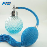100ml Blue Round Crystal Perfume Bottle with Airbag