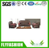 Modern Leather Office Sofa Set (OF-08)