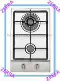 Good Quality Gas Stove with Cast Iron Pan Support (JZS32002)