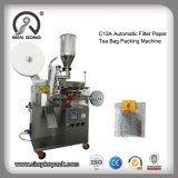 Wholesale Tea Bag Filling Packaging Machine with Thread and Tag
