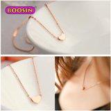 Fashion Girls' Jewelry Zinc Alloy Little Heart Slide Charm Necklace Gold Cheap Price Jewelry