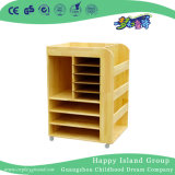 Kindergarten Wooden Made Toys Storage Cabinet (HG-4503)