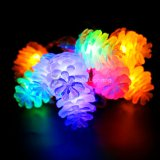 Pinecones LED Decoration Bulb String Light for Christmas/Patio/Bedroom/House