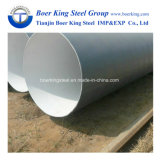 API 3PE Fbe Steel Hollow Section Spiral Welded Line Pipe for Water Gas