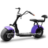 Double Removable Battery Electric Fat Bike 1500W Electric 2 Seat Mobility Scooter 60V 20ah Big Light